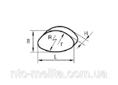 Вкладыш фрикционный PKZ500/1000 тормоз