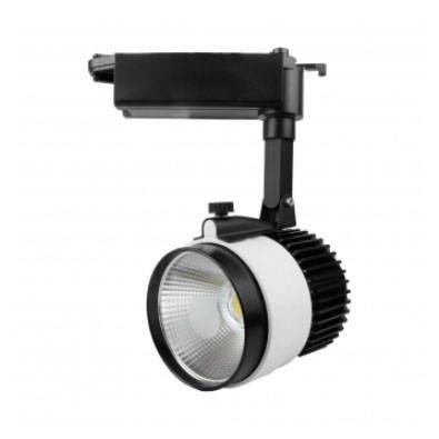 Трековый светильник led D30Н  30W 3200K Код.57979, фото 2