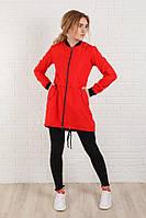 Женская куртка-ветровка с карманами