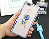 """LG V35 ThinQ оригінальний чохол накладка на бампер панель зі стразами камінням на телефон """"OMARA DIMOND"""", фото 8"""