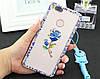 """Xiaomi Mi 7  оригинальный чехол накладка бампер панель со стразами камнями на телефон """"OMARA DIMOND"""", фото 7"""