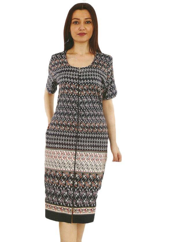 d09dc4aca5d3 Купить Летний халат большого размера 56-58-60 продажа в интернет ...