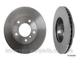 Тормозной диск вентилируемый на BMW E81/ E87 Новый Оригинальный