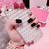 "ASUS ZenFone Max оригинальный чехол накладка бампер панель со стразами камнями на телефон ""PEARL SHINE"", фото 5"