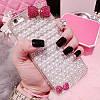 "LG G7 ThinQ оригинальный чехол накладка бампер панель со стразами камнями на телефон ""PEARL SHINE"", фото 5"