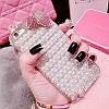 "ASUS ZenFone 5 / 5Z оригинальный чехол накладка бампер панель со стразами камнями на телефон ""PEARL SHINE"", фото 6"