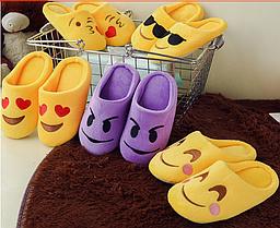 Тапочки дитячі смайлики різні моделі Emoji смай