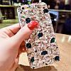 "LG V40 / V40 ThinQ оригинальный чехол накладка бампер панель со стразами камнями на телефон ""LUXURY ROCK"", фото 4"