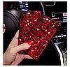 "LG V40 / V40 ThinQ оригинальный чехол накладка бампер панель со стразами камнями на телефон ""LUXURY ROCK"", фото 5"