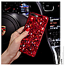 "LG V40 / V40 ThinQ оригинальный чехол накладка бампер панель со стразами камнями на телефон ""LUXURY ROCK"", фото 6"