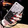 """ASUS ZenFone Max Plus M1 ZB570TL оригинальный чехол накладка бампер панель со стразами камнями """"LUXURY ROCK"""", фото 9"""