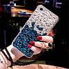 "LG V35 ThinQ оригинальный чехол накладка бампер панель со стразами камнями на телефон ""LUXURY ROCK"", фото 9"