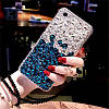 "LG V40 / V40 ThinQ оригинальный чехол накладка бампер панель со стразами камнями на телефон ""LUXURY ROCK"", фото 9"