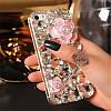"""LG V35 ThinQ оригінальний чохол накладка на бампер панель зі стразами камінням на телефон """"LUXURY white ROCK"""", фото 6"""