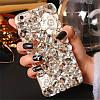 "ASUS ZenFone 4 PRO оригинальный чехол накладка бампер панель со стразами камнями на телефон ""LUXURY ROCK white, фото 7"