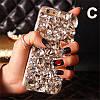 """LG V20 оригінальний чохол накладка на бампер панель зі стразами камінням на телефон """"LUXURY white ROCK"""", фото 8"""