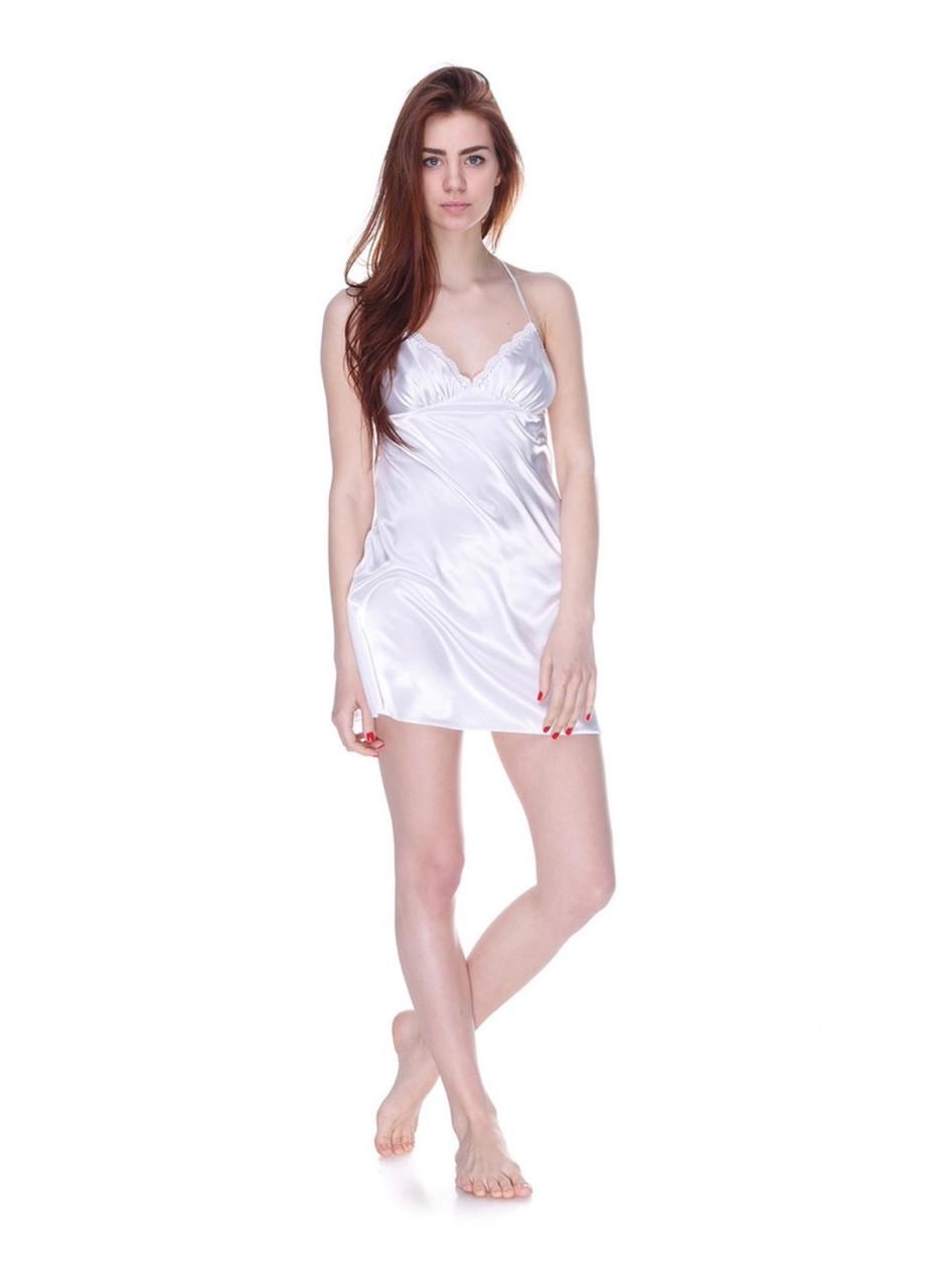 Красивая белая ночная сорочка Серенада(Serenade) 572