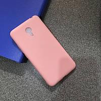 Чехол Бампер Style для Meizu M3 Note силиконовый розовый, фото 1