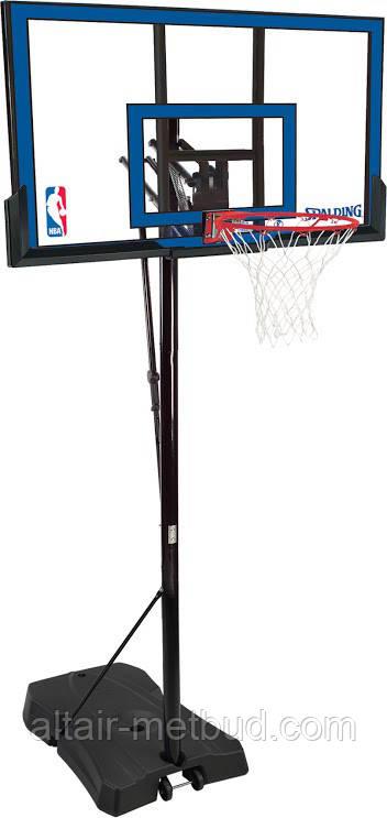 Мобильная баскетбольная стойка Spalding 73655