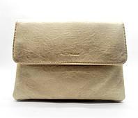 Стильная сумка-клатч женская Pretty woman золотистого цвета на плечо PRT-782371 (большая), фото 1