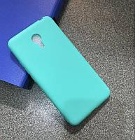 Чехол Бампер Style для Meizu M3 Note силиконовый голубой, фото 1