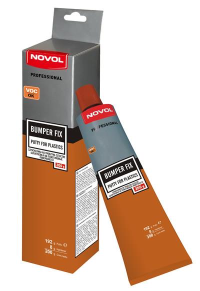 Novol BUMPER FIX Шпатлевка для пластика, вес 0,2 кг