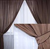Комплект готовых штор 2 м(Цвета в ассортименте)