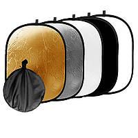 Фото отражатель рефлектор 5 в 1 90x120 см