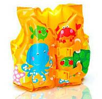 """Надувной жилет """"Веселые рыбки"""" Intex-59661"""