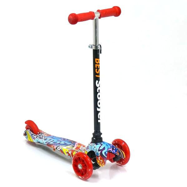 Детский самокат трехколесный Best Scooter 1288