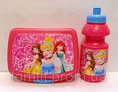 """Набор """"Princess Disney (Принцессы Дисней)"""". Ланч бокс (ланчбокс) + бутылка"""