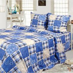 Комплект постельного белья бязь набивная евро 220х200