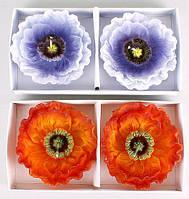 Набор декоративных свечей (2шт) Мак, 2 вида