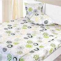 Комплект хлопкового постельного белья евро 220х200