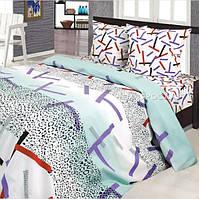Комплект постельного белья их хлопка евро 220х200