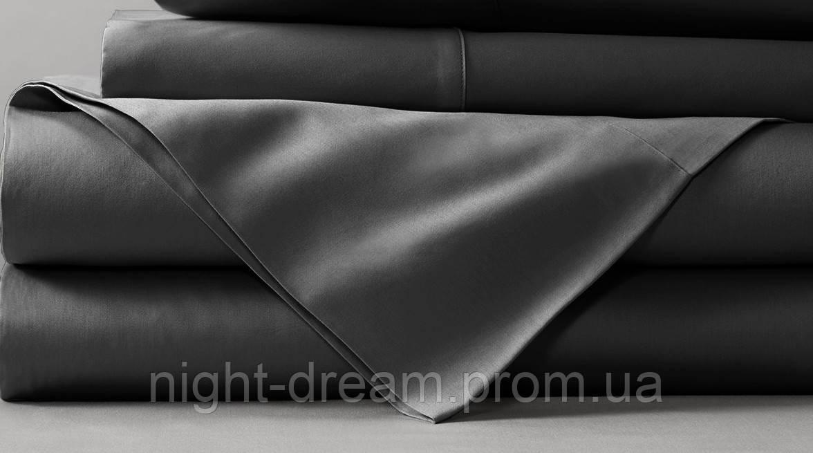 b6e929ddcd00 Простынь 240х260 BOSTON Jefferson Sateen серая - Постельное белье в  интернет-магазине Night dream Украина