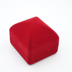 """Футляр под кольцо """"Классика чалма"""" красный"""