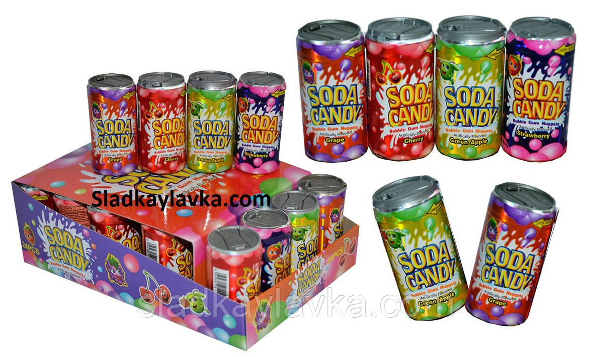 Драже Soda Candy 24 шт (Китай)