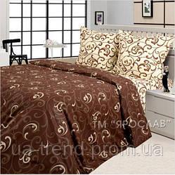 Комплект постельного белья бязь набивная евро+ 220х240