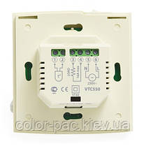 AURA VTC 550 (белый) - электронный терморегулятор, фото 3