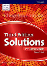 Solutions Third Edition Pre-Intermediate Student's Book / Учебник