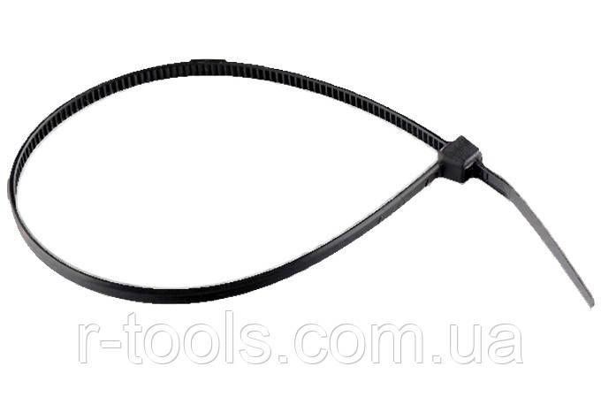 Хомути 150 2,5 мм, пластикові чорні, 100 шт Сибртех 45545