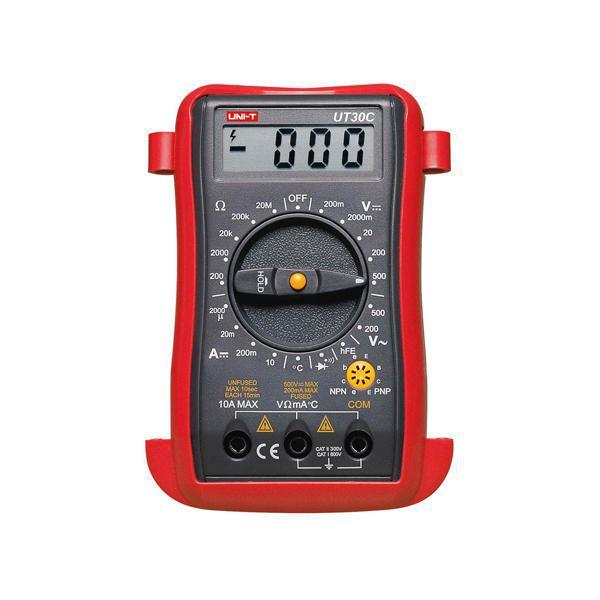 Мультиметр универсальный Uni-t UT30C с термопарой