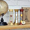 Часы песочные на деревянной подставке 10 минут, длинна 160 мм +Подарок