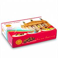 """Подарочный набор конфет """"Ассорти"""" с крышкой"""