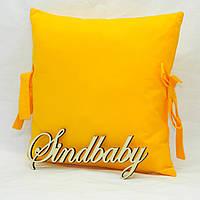 Бортики подушки в кроватку, Подушка бязь 30х30 -28