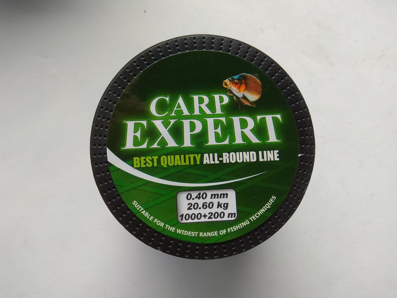 Леска Energofish Carp Expert Dark Green 1200 м 0.30 мм