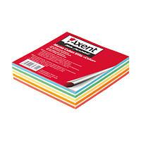 """Бумага Axent Elite """"Color"""" 8025-A для заметок цветная, 90х90х20 мм, проклееная"""