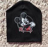 Детская двойная шапочка Микки Маус интерлок, фото 2