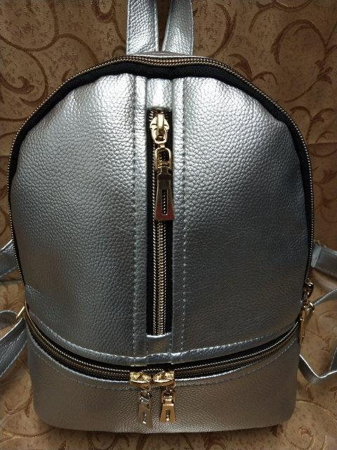 Рюкзак женский эко-кожа городской стильный.